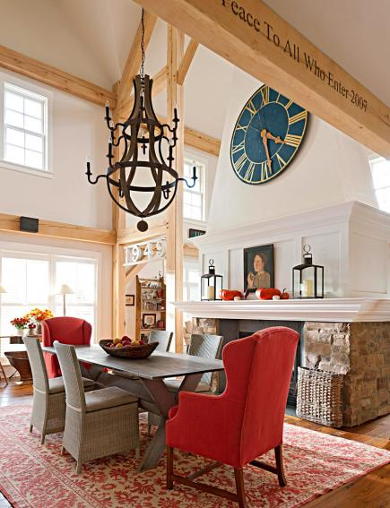 30 dining room decorating styles - Country Dining Room Wall Decor