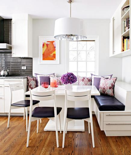 Delightful Kitchen Banquette