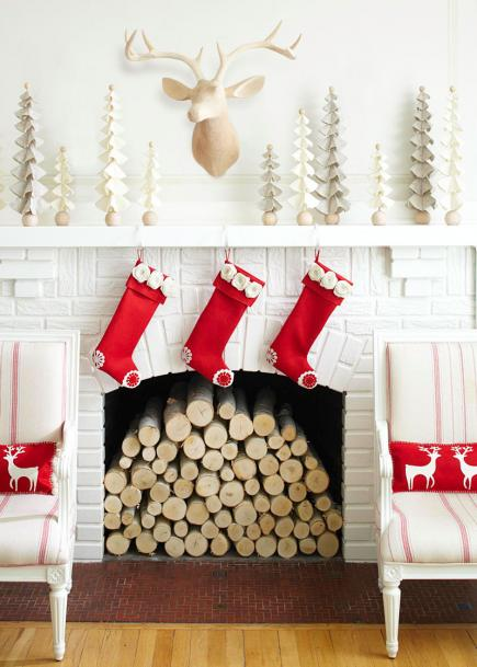 scandinavian style - Christmas Decorations For Your Room