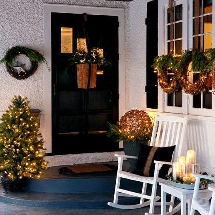 outdoor holiday decorating ideas - Outdoor Christmas Decorating Ideas Pictures
