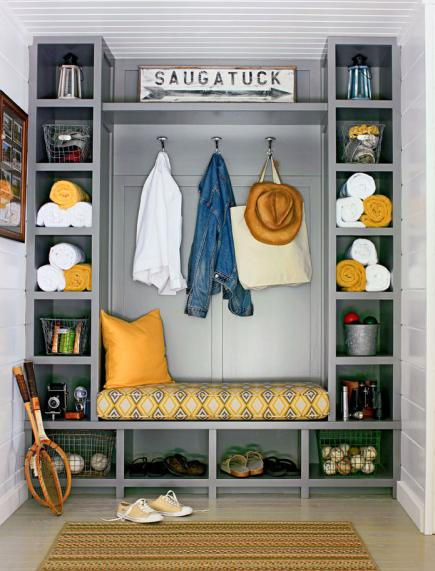 mudroom entry organization - Mudroom Design Ideas