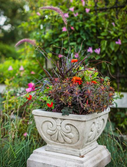 Planter Garden Ideas Container gardens for the midwest midwest living more on container gardens workwithnaturefo