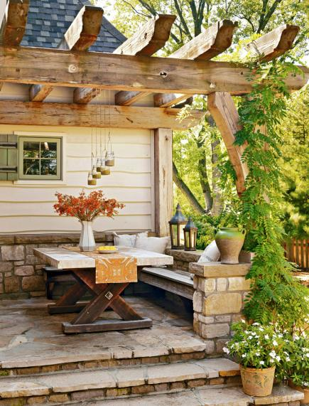 Outdoor rooms you 39 ll love midwest living for Outdoor rooms photos