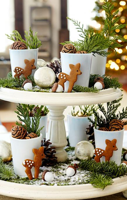 woodland charm - How To Decorate A Christmas Table