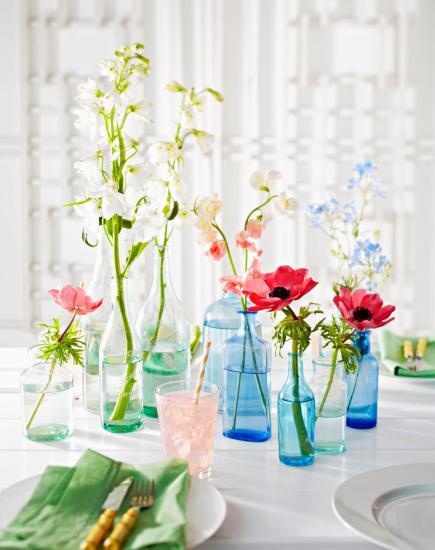 Easy Flower Centerpiece