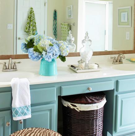 Budget bathroom vanity remodel