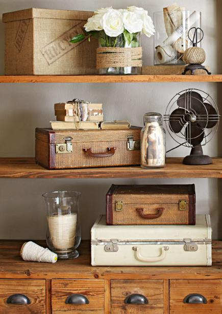 Decorating With Antiques decorating ideas for vintage finds | midwest living