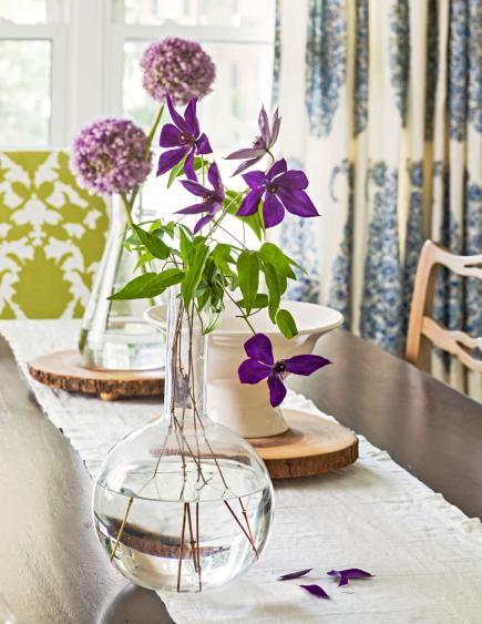 Easy flower centerpiece & 50 Easy Spring Decorating Ideas | Midwest Living