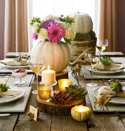 easy thanksgiving centerpieces midwest living - Thanksgiving Centerpieces Ideas