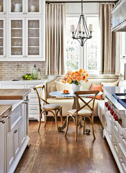 7 Ideas for Kitchen Banquettes | Midwest Living on star fort, defensive wall, curtain wall, promontory fort, martello tower,