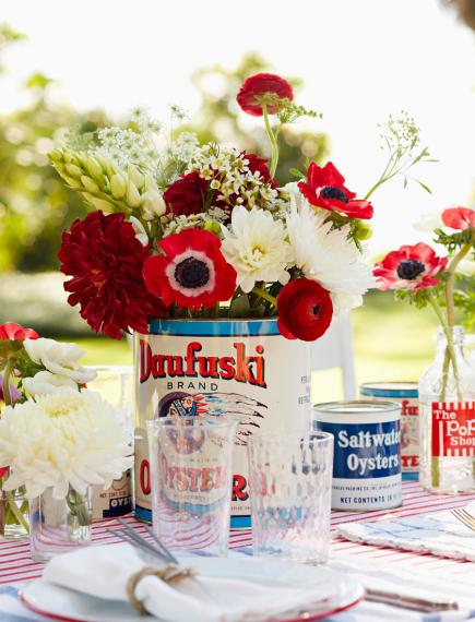 July 4 centerpiece
