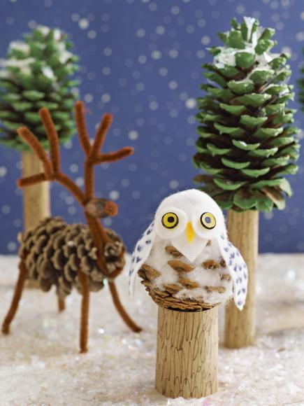 Pine Cone Crafts For Kids Christmas