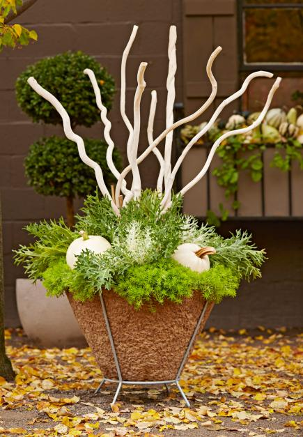 High-reaching display & Fresh Fall Container Gardens | Midwest Living