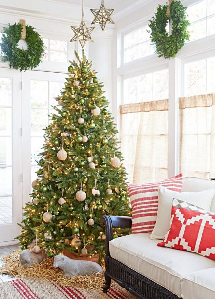 decorating living room for christmas. Calm and cool decorating 25 Beautiful Christmas Living Rooms  Midwest