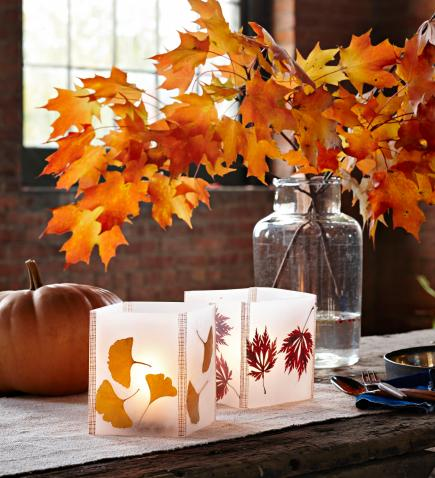 fall glow - Decorating For Autumn