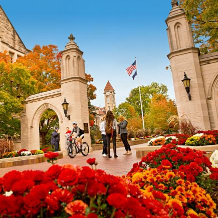 Indiana University Sample Gates