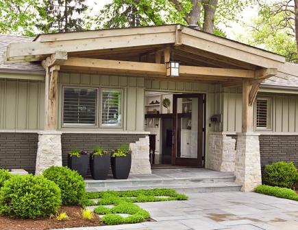 Easy ways to boost curb appeal midwest living for Ranch house curb appeal