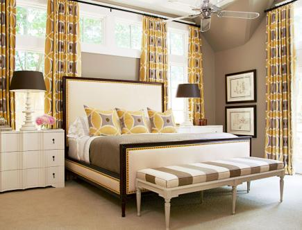 Awesome Pattern Mix Bedroom Gallery