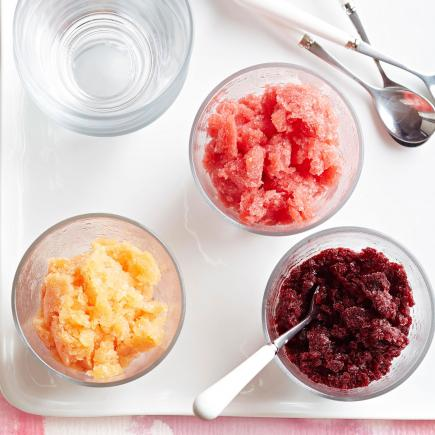 Pick-a-Stone Fruit Granita