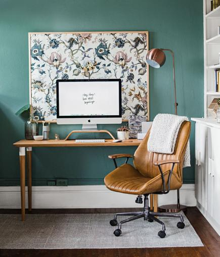 20 ways to create a home office space midwest living - Creating a small home office ...