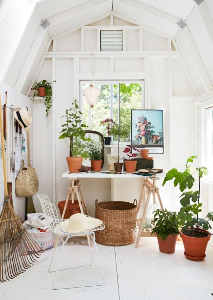 Customized shed