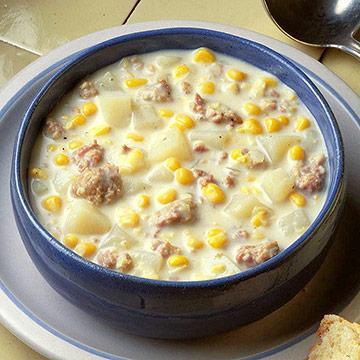 Corn-Sausage Chowder