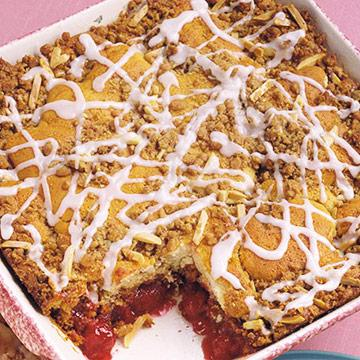 Cherry-Brickle Coffee Cake