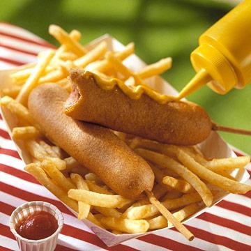 Hot Dogs on a Stick
