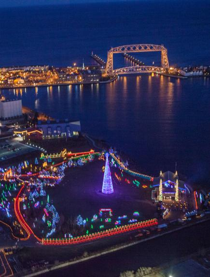 Bentleyville Tour of Lights, Duluth - 30 Great Places To See Holiday Lights Midwest Living