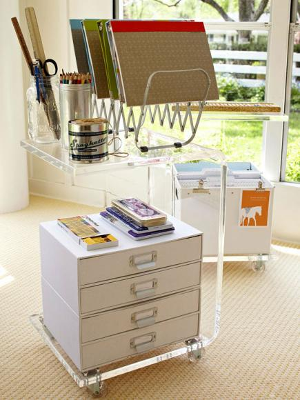 Creating office space Desk Moveable Office Midwest Living 20 Ways To Create Home Office Space Midwest Living