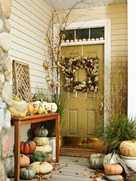 3 Fun Themes For Fall Door Decorations Midwest Living
