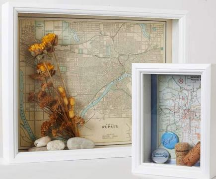 10 Ideas For Decorating With Maps