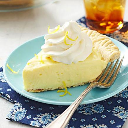 Lemon-Cream Cheese Pie