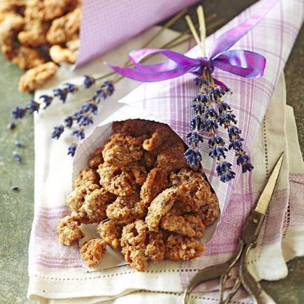 Lavender-Spiced Walnuts