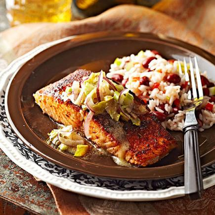 Cajun-Rubbed Salmon
