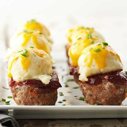 Meat Loaf Muffins