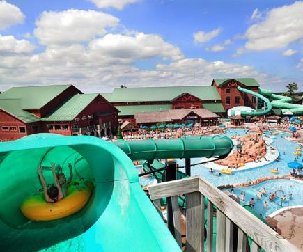 wisconsin dells wilderness resort