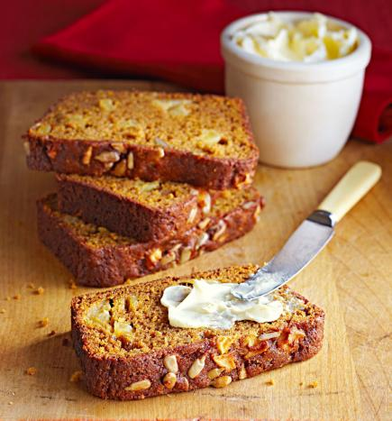Apple Pumpkin Sunflower Bread