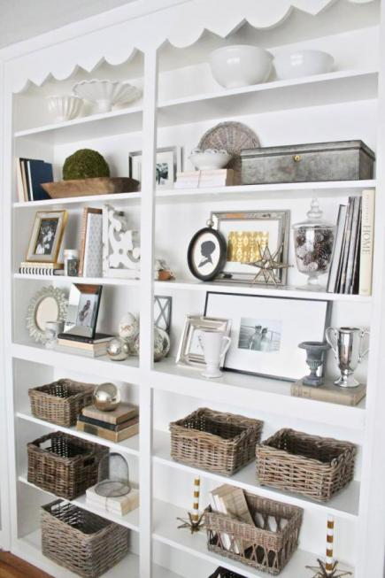 15 Ideas for Shelf Displays