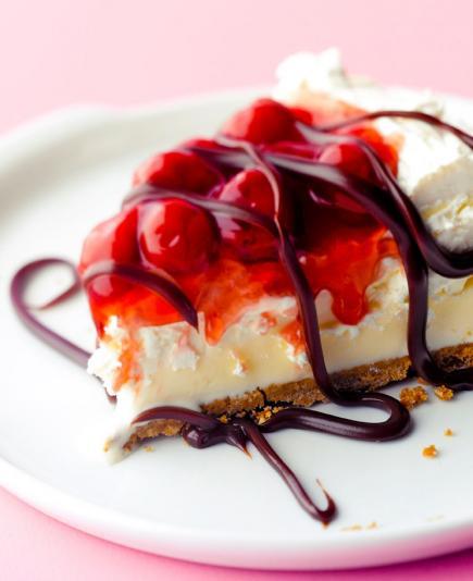 Black Forest Freezer Pie