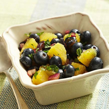 Blueberry-Balsamic Salsa