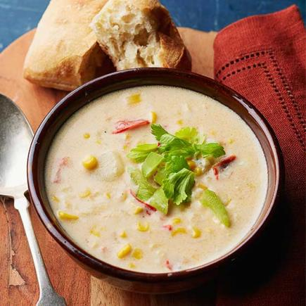 buffalo corn potato chowder inspired by buffalo chicken wings this ...