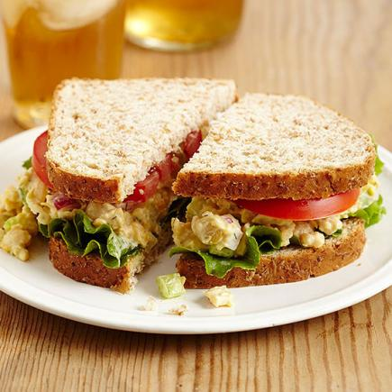 Chickpea Sandwich Filling