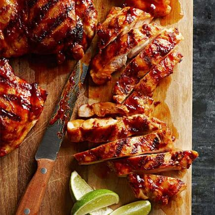 45 easy summer dinner recipes midwest living chipotle maple chicken thighs forumfinder Image collections