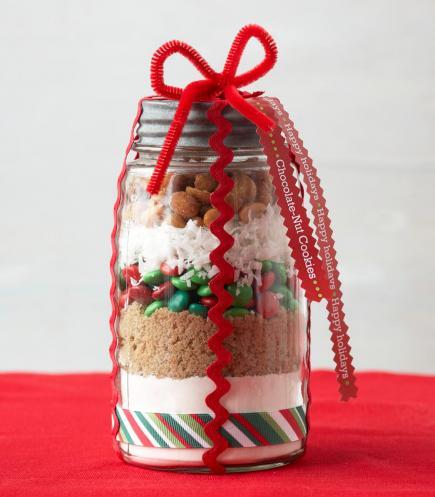 Christmas food gift wrapping