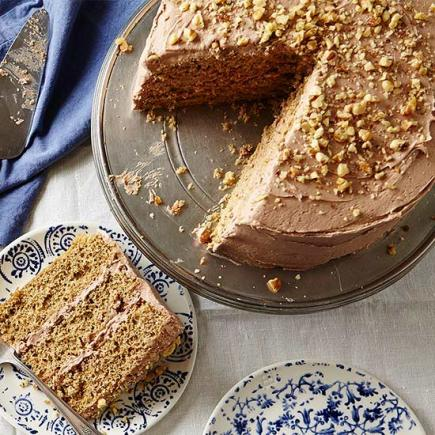 Coffee Nut Torte