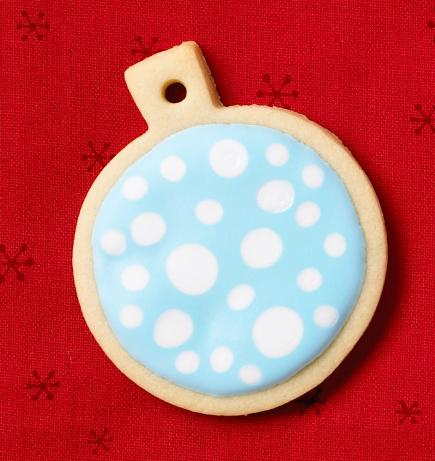 Royal Icing polka dots