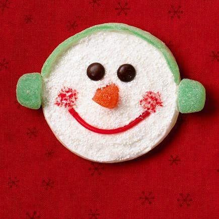 Gumdrop snowman
