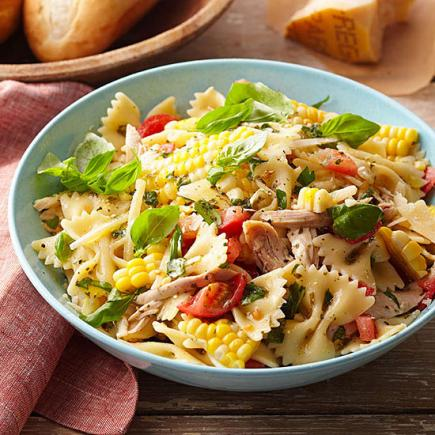 Corn and Tomato Pasta Salad