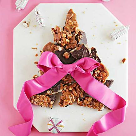 Dark Chocolate Almond Brittle